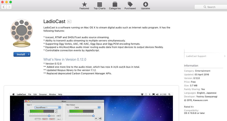 LadioCast download.