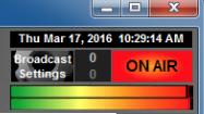 NextKast live status.