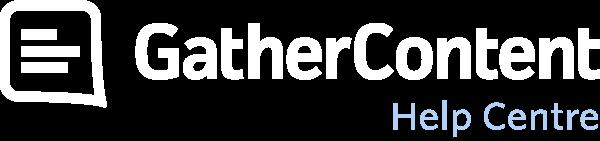 GatherContent Help Centre