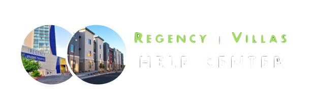 Regency & Villas Help Desk